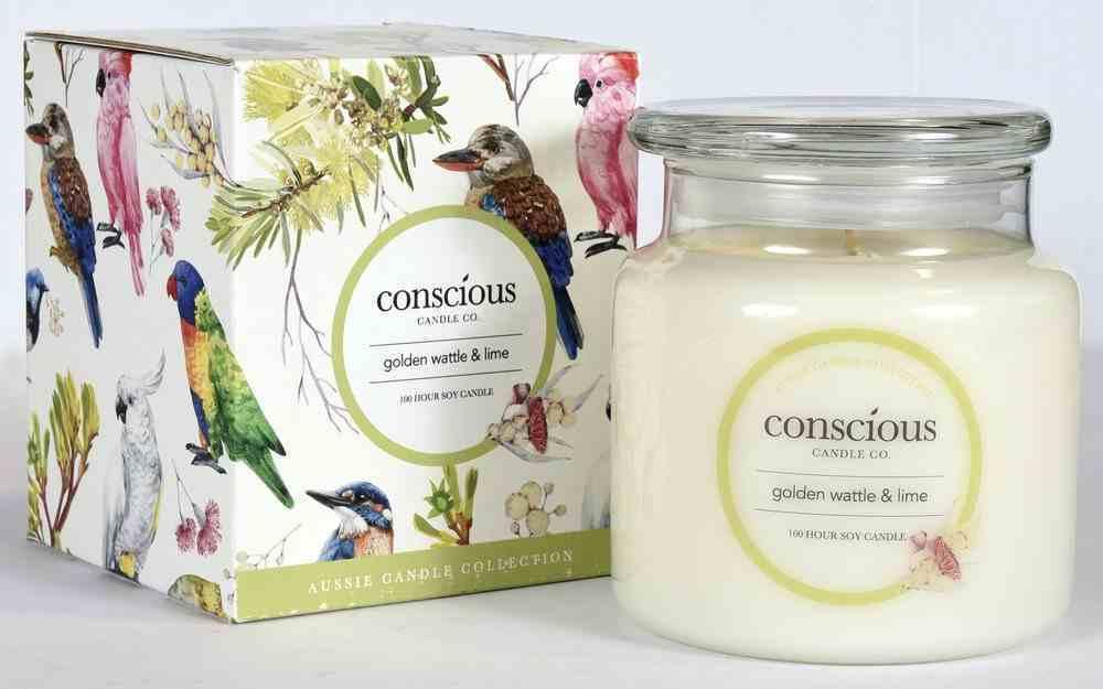 Aussie Candle: Golden Wattle & Lime Homeware