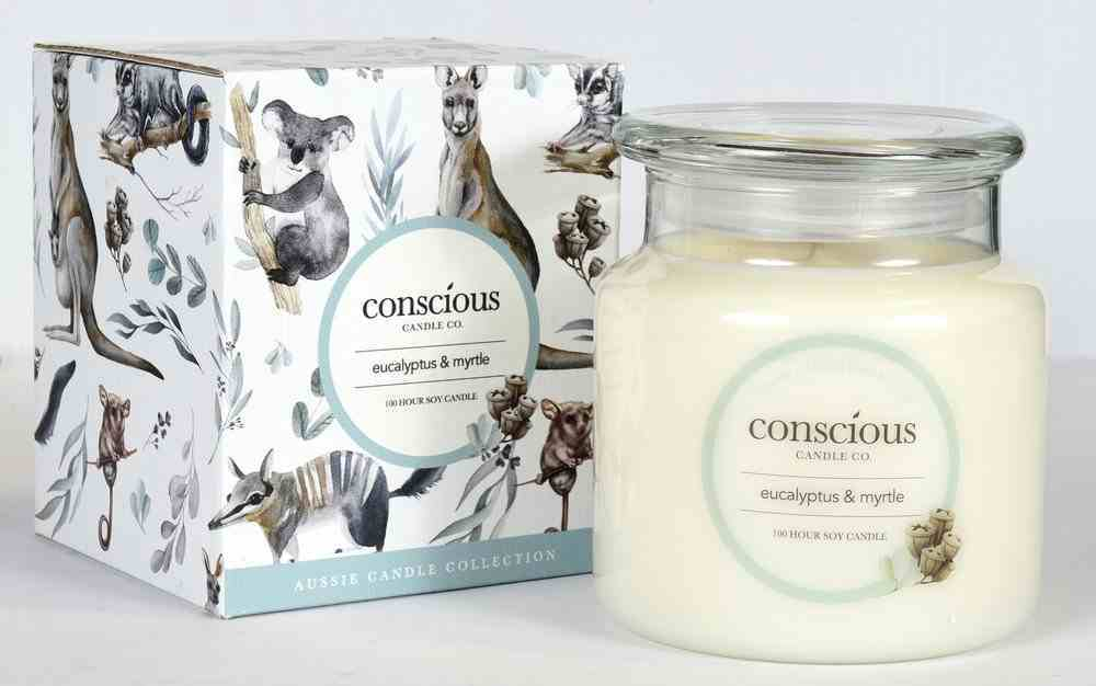 Aussie Candle: Eucalyptus & Myrtle Homeware