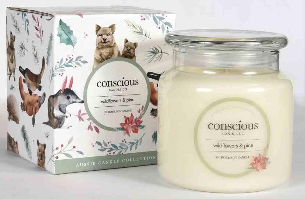 Aussie Candle: Wild Flowers & Pine Homeware