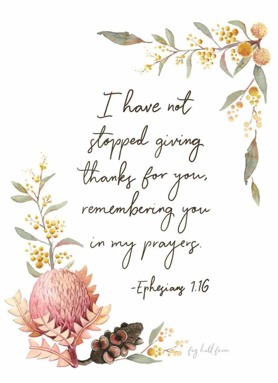 Thankful, Grateful (Wattle Floral) Cards