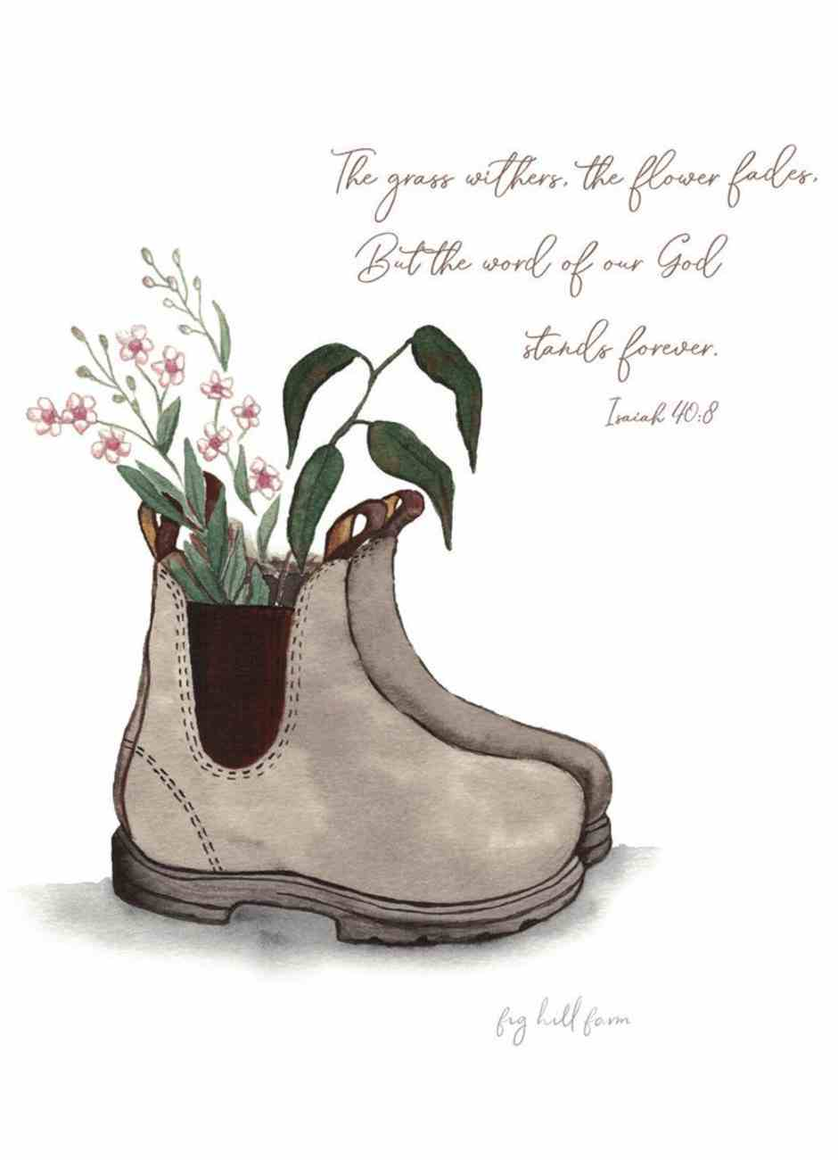 God is Always Faithful (Boot) Cards