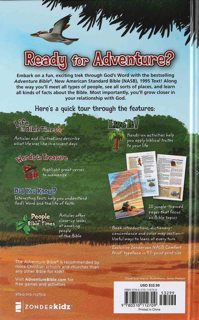 NASB Adventure Bible (Red Letter Edition) Hardback