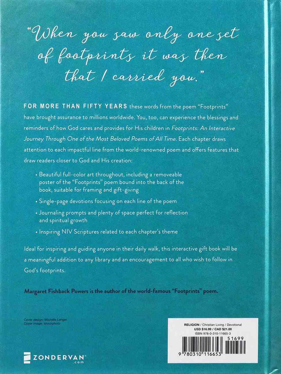 Footprints: An Interactive Journey Through One of the Most Beloved Poems of All Time Hardback