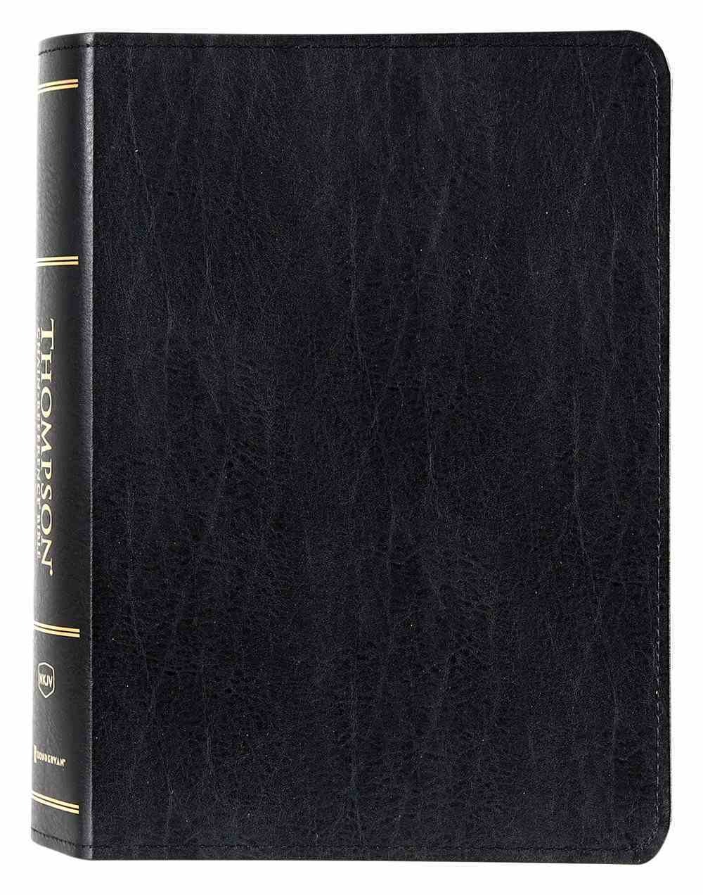 NKJV Thompson Chain-Reference Bible Black (Red Letter Edition) Bonded Leather