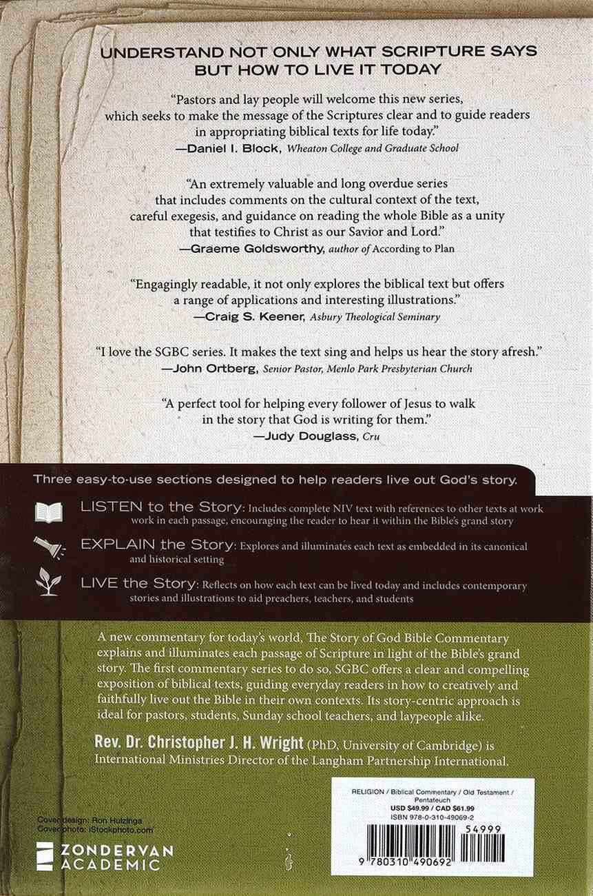 Exodus (The Story Of God Bible Commentary Series) Hardback