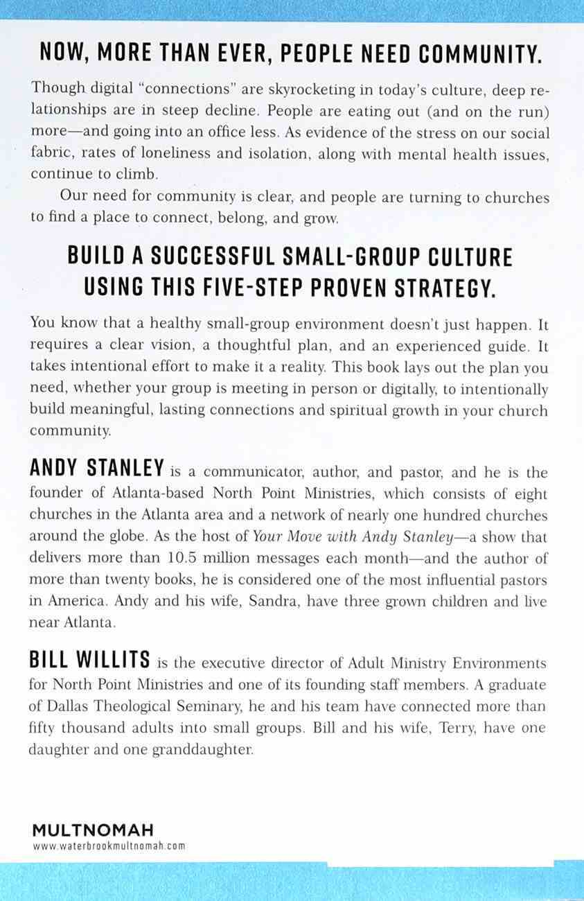 Creating Community: Five Keys to Building a Thriving Small-Group Culture Paperback