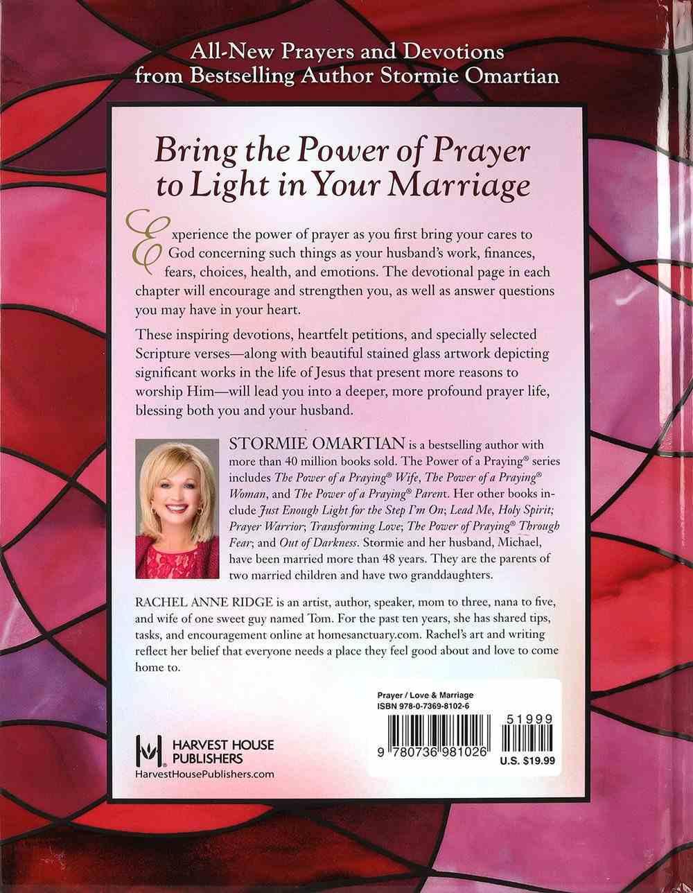 The Power of a Praying Wife Illuminated Prayers and Devotions Hardback