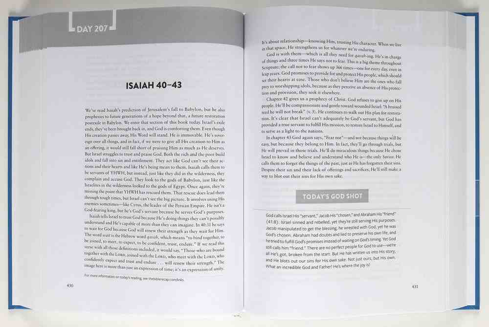The Bible Recap: A One-Year Guide to Reading and Understanding the Entire Bible Hardback