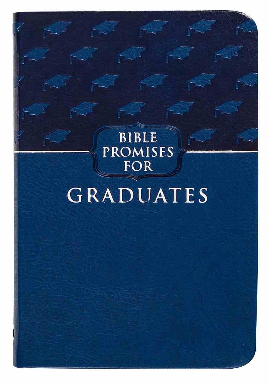Bible Promises For Graduates Blueberry Imitation Leather