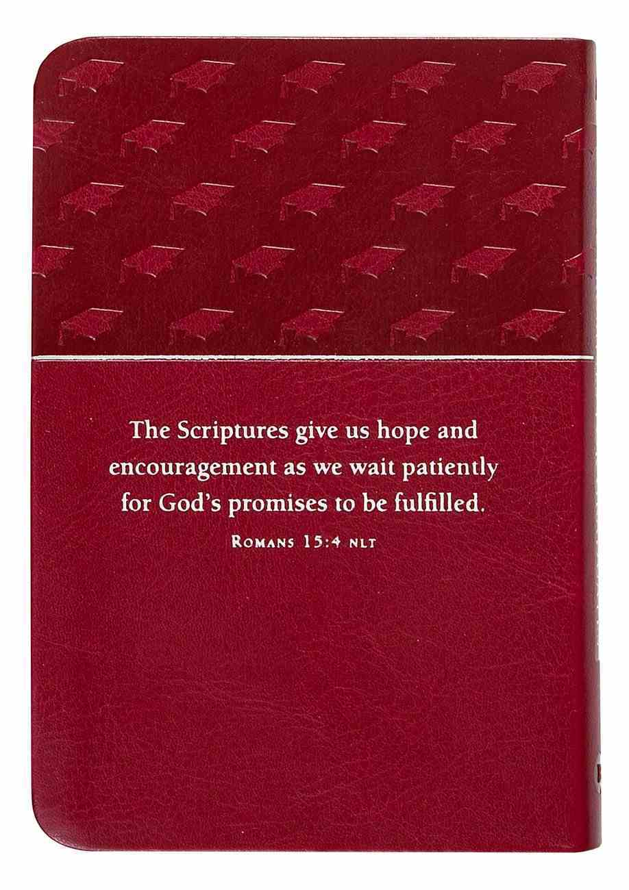 Bible Promises For Graduates Raspberry Imitation Leather