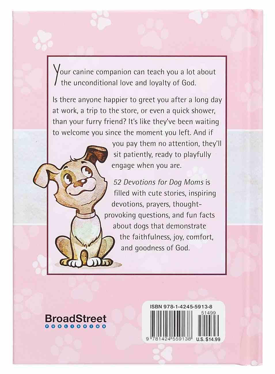 52 Devotions For Dog Moms Hardback