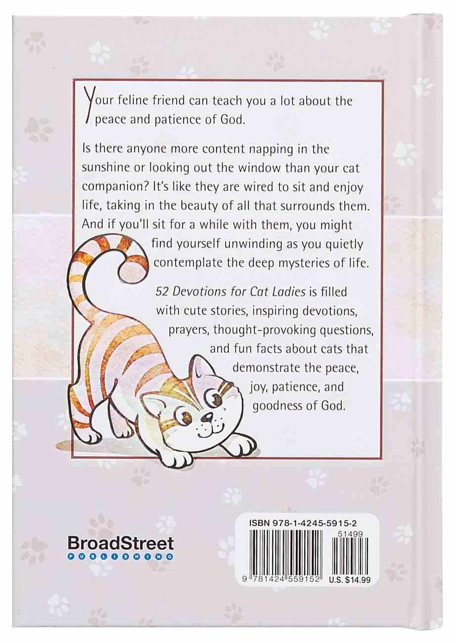 52 Devotions For Cat Ladies Hardback