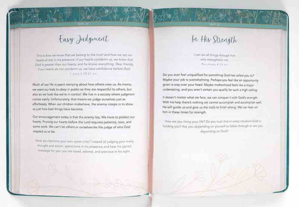 A Little God Time For Mothers: 365 Daily Devotions Imitation Leather
