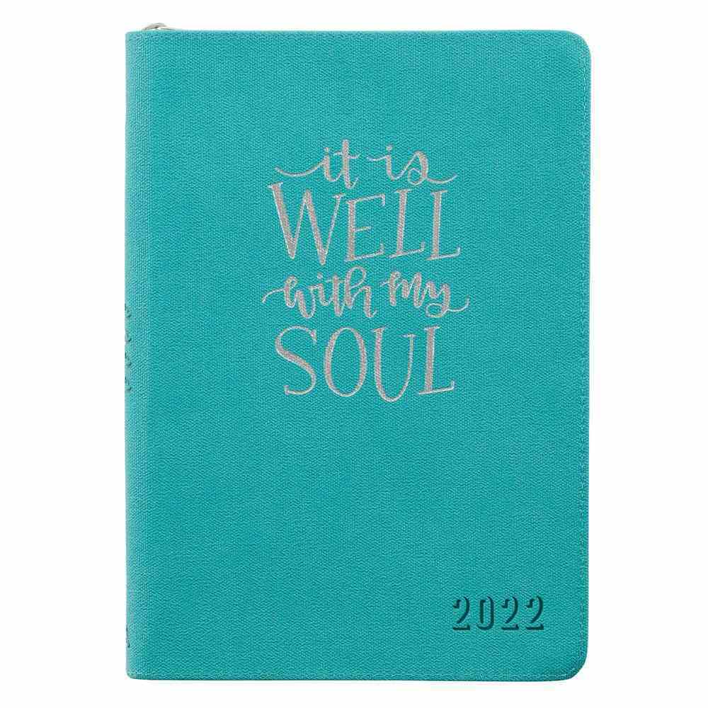 2022 12-Month Diary/Planner: It is Well With My Soul Imitation Leather
