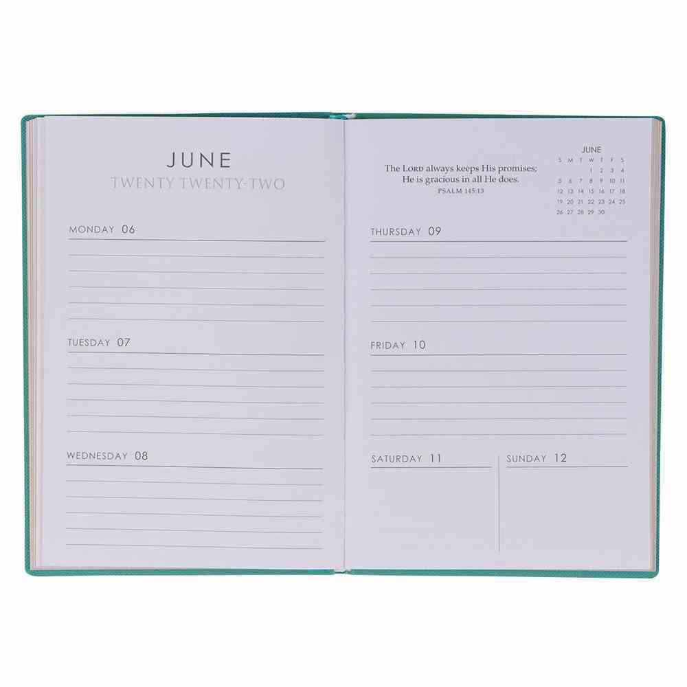 2022 12-Month Diary/Planner: Be Still My Soul (Psalm 46:10) Imitation Leather