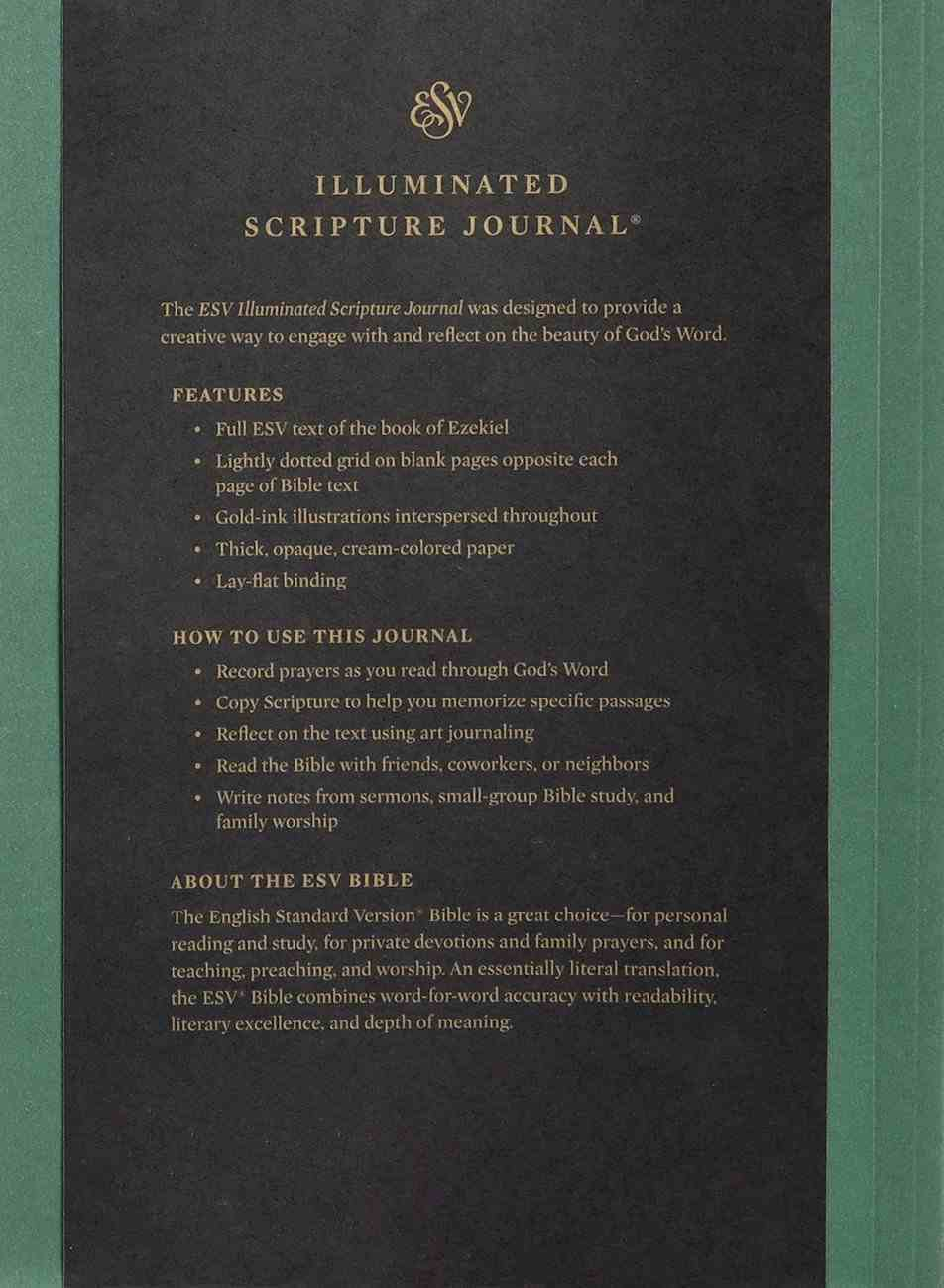 ESV Illuminated Scripture Journal Ezekiel (Black Letter Edition) Paperback