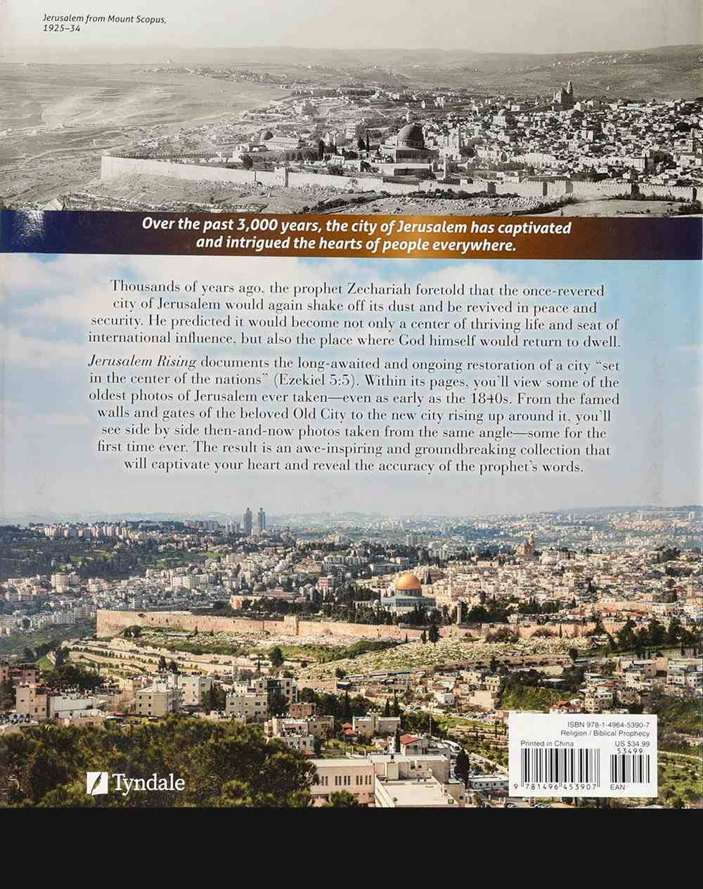Jerusalem Rising: The City of Peace Reawakens (Ancient Prophecy Modern Lens Series) Hardback