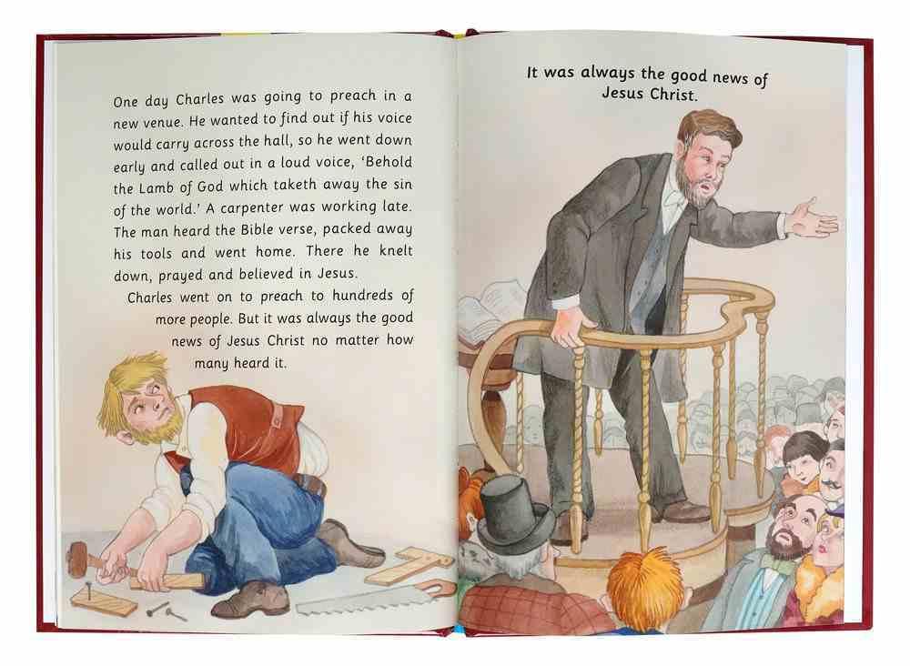 Charles Haddon Spurgeon - Who is the Greatest? (Little Lights Biography Series) Hardback