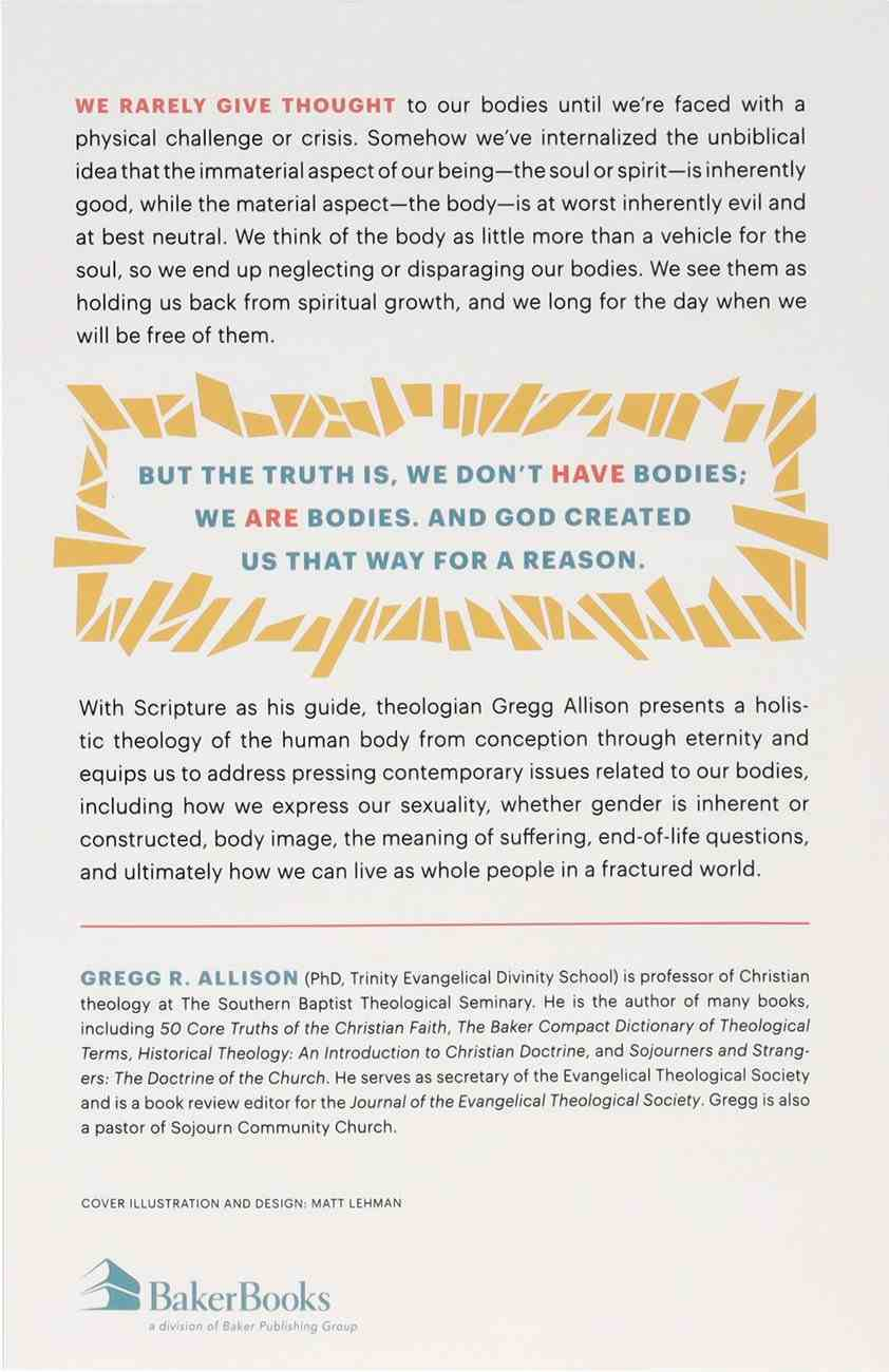 Embodied: Living as Whole People in a Fractured World Paperback