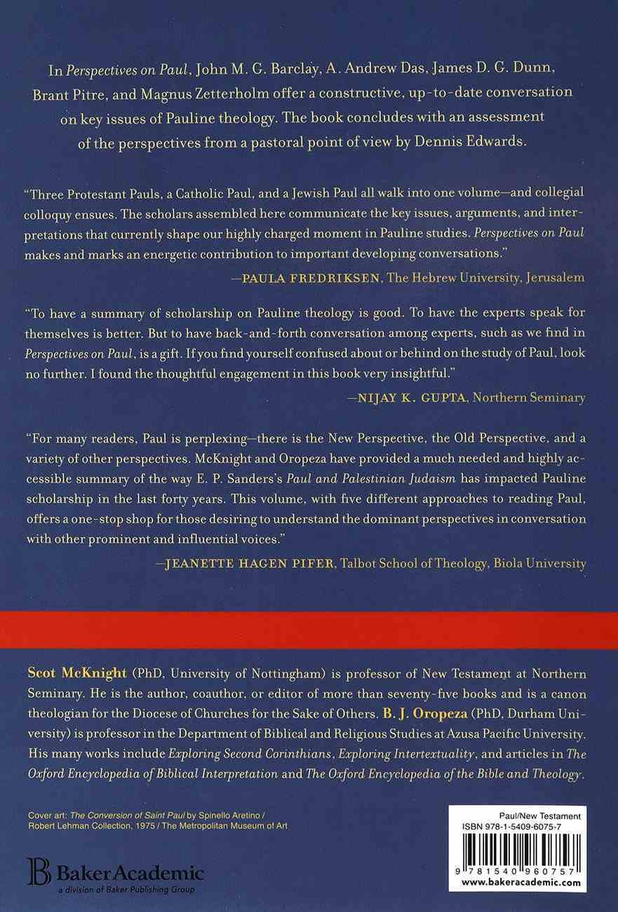 Perspectives on Paul: Five Views Paperback