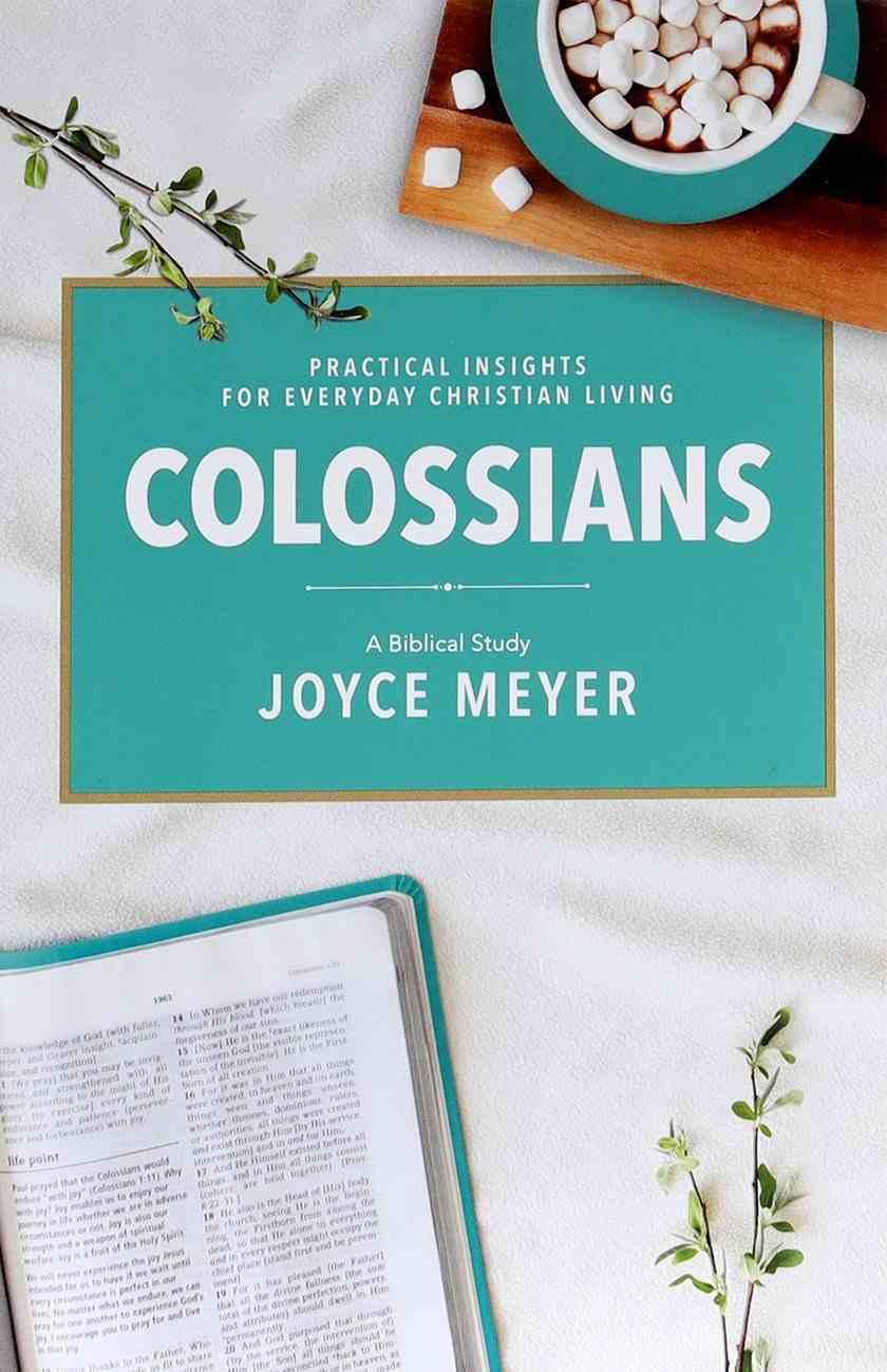 Colossians: A Biblical Study (Deeper Life Biblical Study Series) Paperback