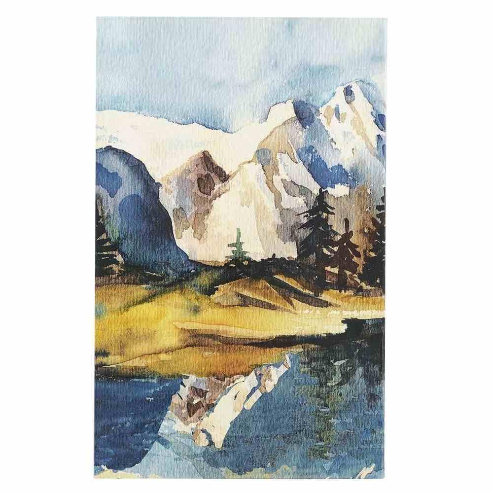 Journal: On Wings Like Eagles Mountain Scene (Isaiah 40:31) Flexi Back