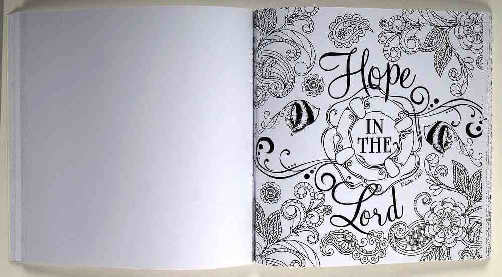 We Have This Hope Coloring Book (Adult Coloring Books Series) Paperback