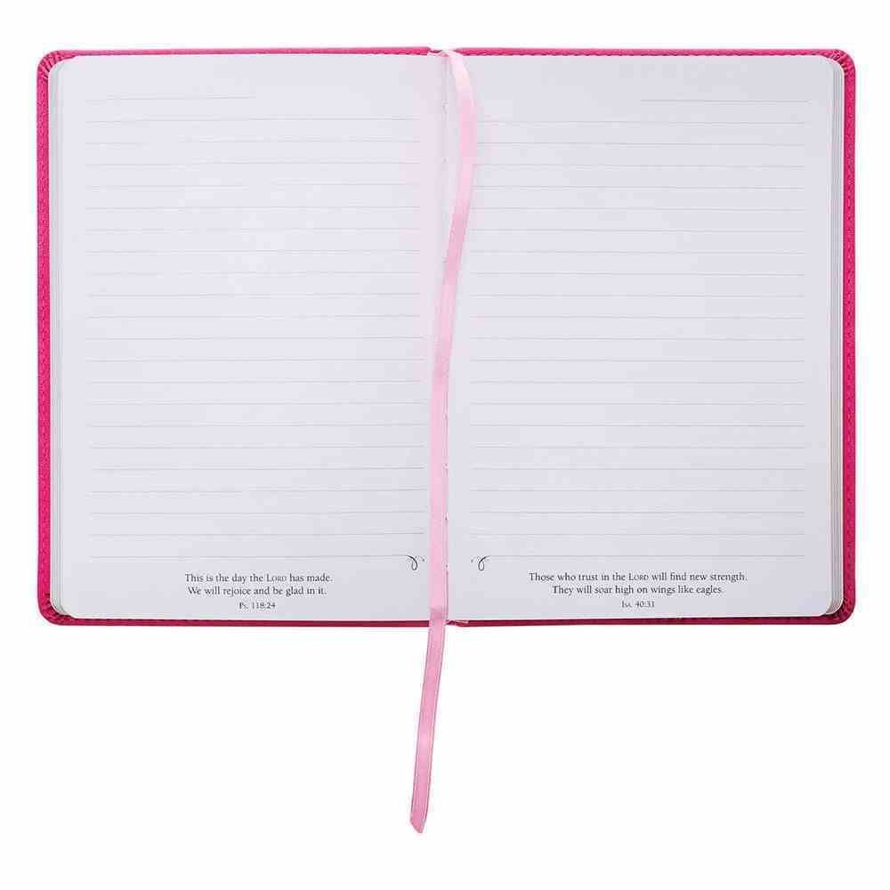Journal: He Has Made Everything Beautiful Pink (Ecc. 3:11) Imitation Leather