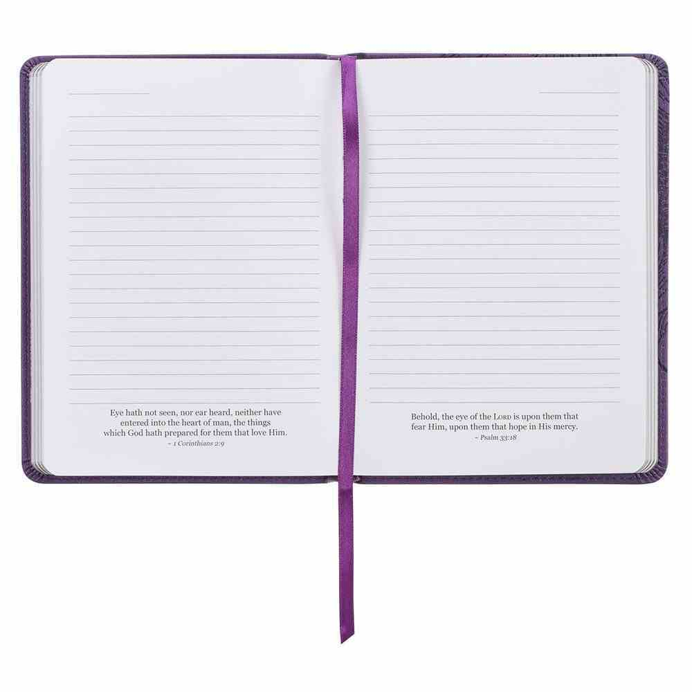 Journal: She is Clothed Purple (Proverbs 31:25) Imitation Leather