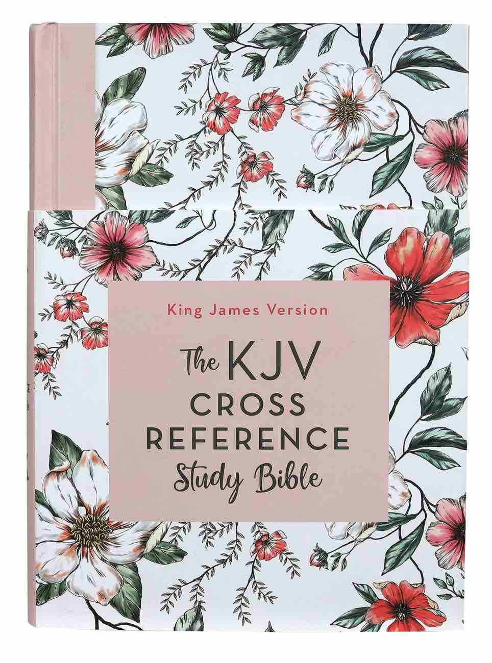 KJV Cross Reference Study Bible Magnolia Blossom (Red Letter Edition) Hardback