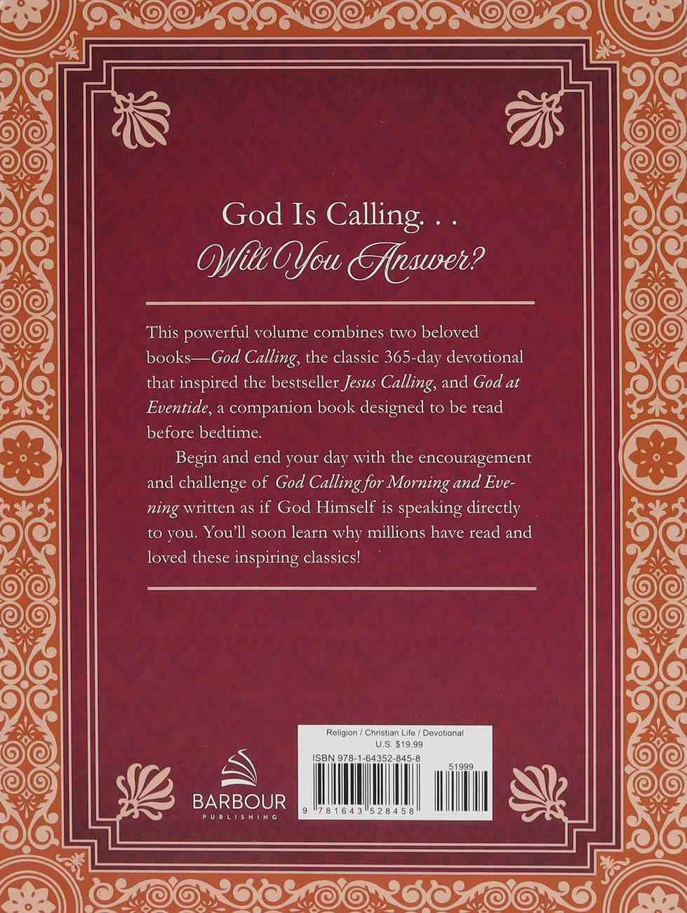God Calling For Morning and Evening: The Bestselling Classic Daily Devotional Paperback