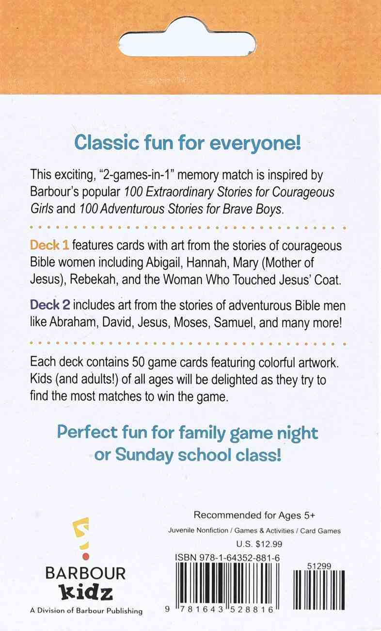 Courageous Kids: A Memory Matching Game - 2 Bible Games in 1! Game