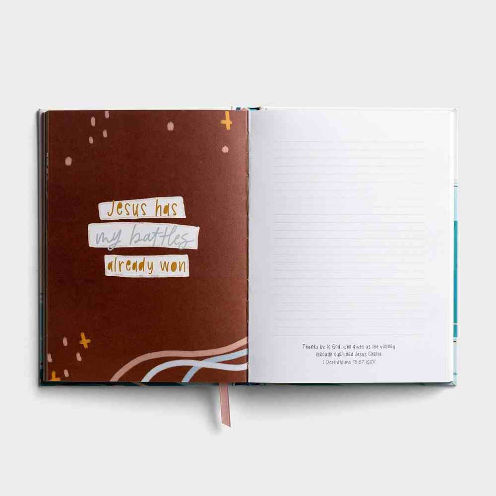 Journal: Deep Waters: Peaceful Encouragement For the Anxious Heart Hardback