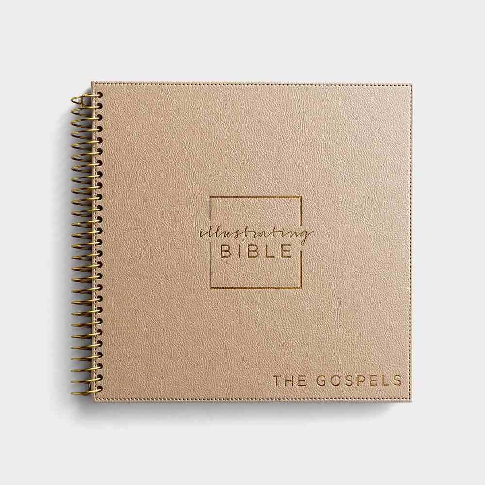 NIV Illustrating Bible the Gospels Faux Leather (Black Letter Edition) Spiral