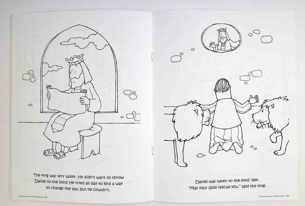 Daniel and the Lions' Den (Ages 2-4 Reproducible) (Warner Press Colouring/activity Under 5's Series) Paperback