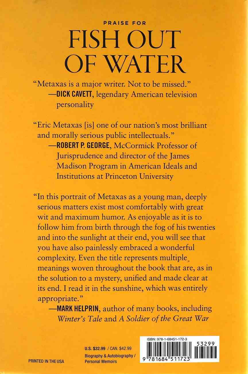 Fish Out of Water: A Search For the Meaning of Life Hardback