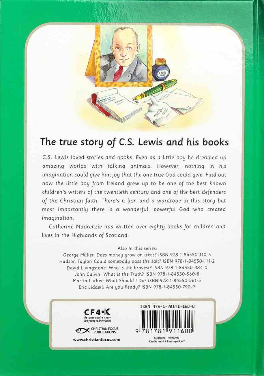 C.S.Lewis - Can You Imagine? (Little Lights Biography Series) Hardback