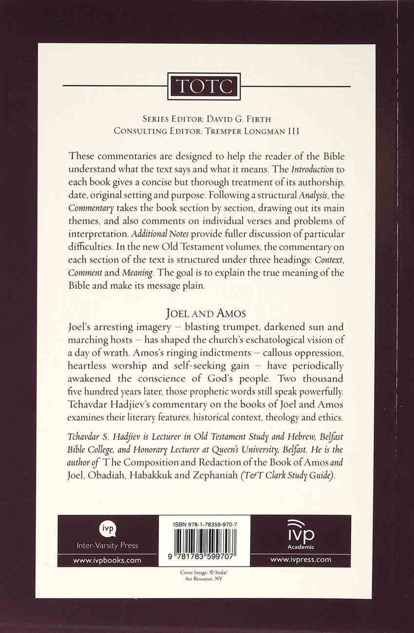 Joel and Amos (Tyndale Old Testament Commentary (2020 Edition) Series) Paperback