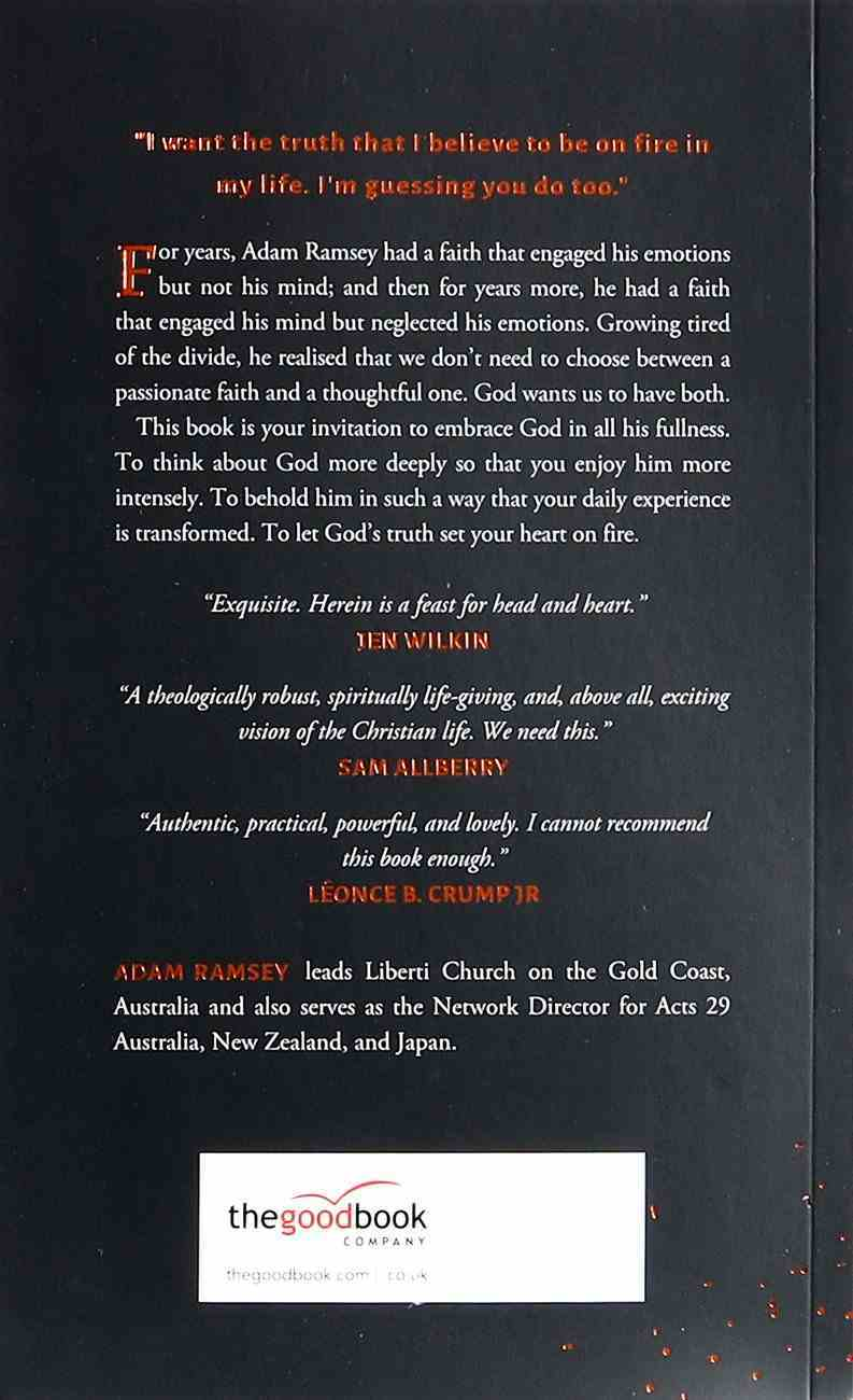 Truth on Fire: Gazing At God Until Your Heart Sings Paperback