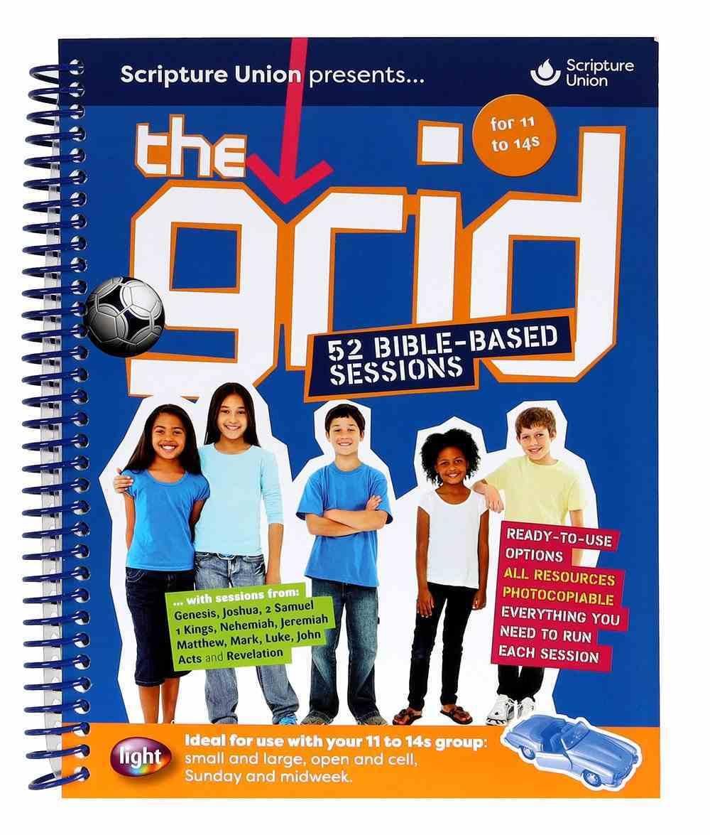 Light: The Grid Blue Compendium (11-14 Yrs) Spiral