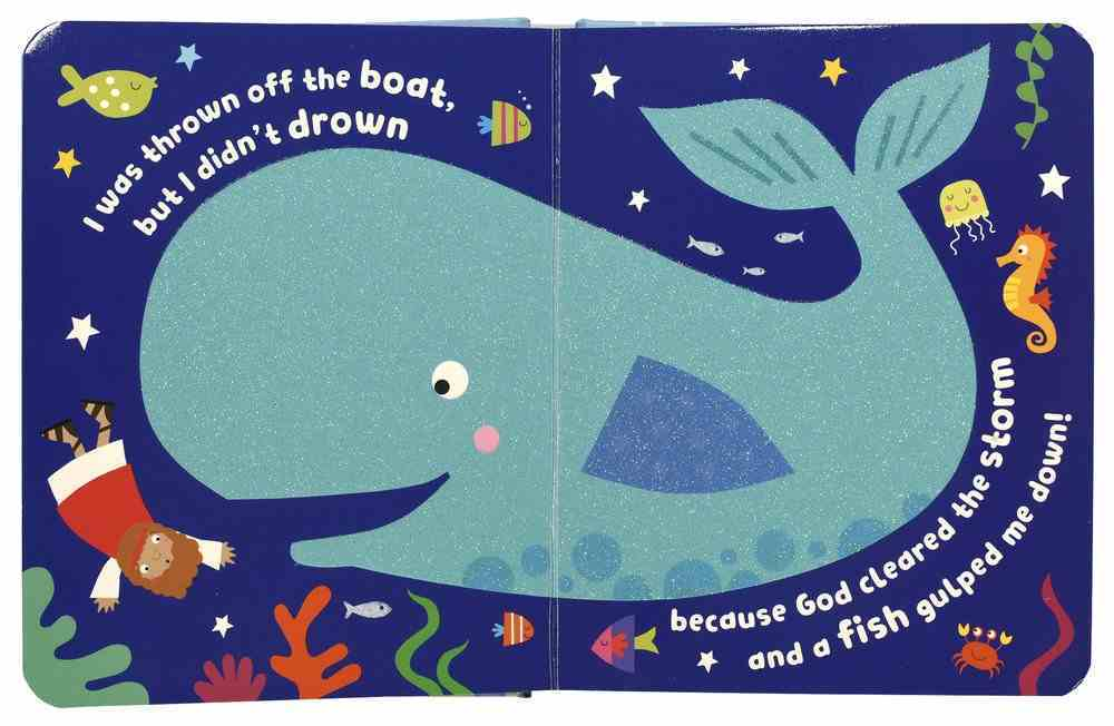 Jonah and the Big Fish With Touch and Feel Padded Board Book
