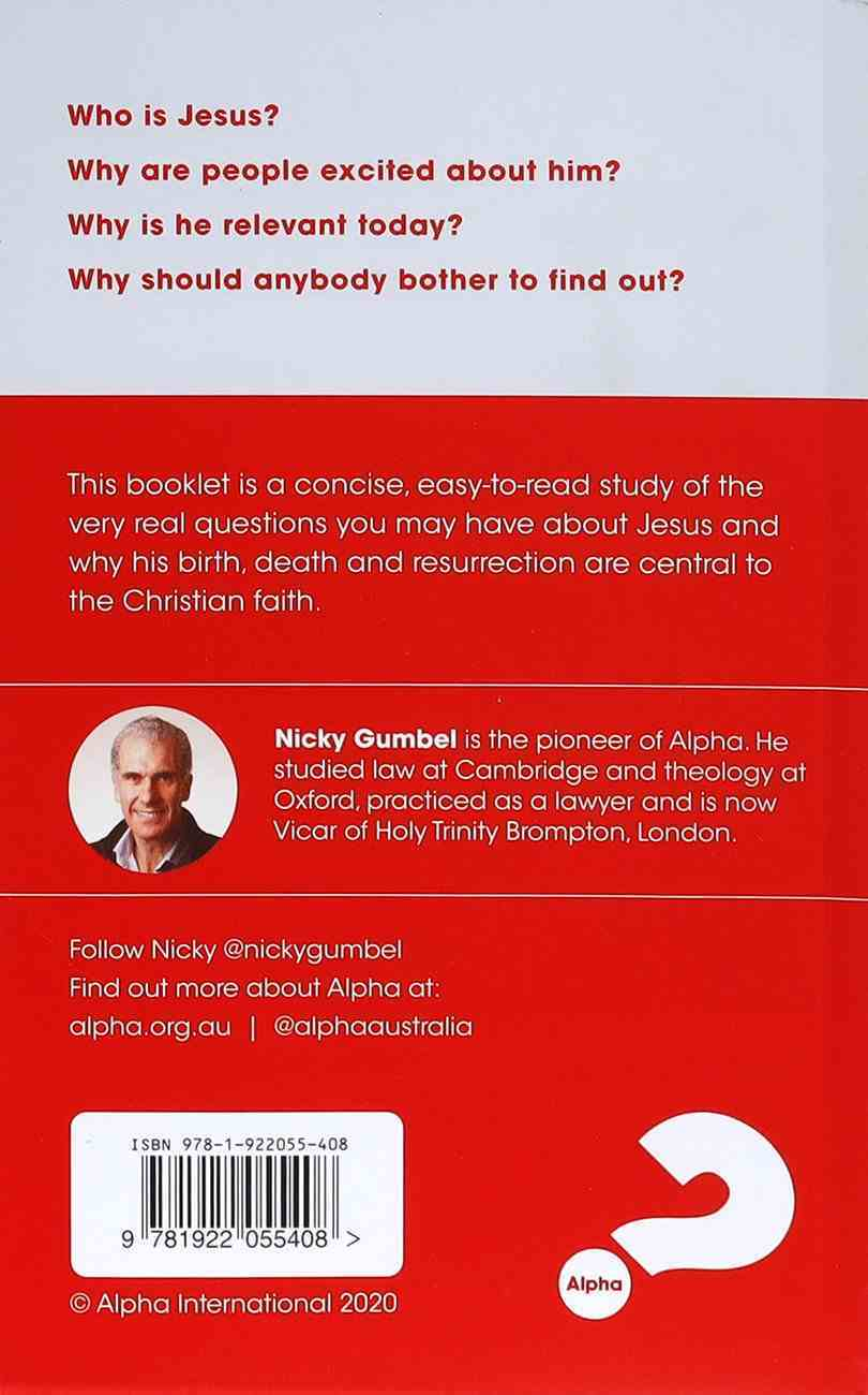 Why Jesus? Expanded Edition (2021) (Alpha Course) Booklet