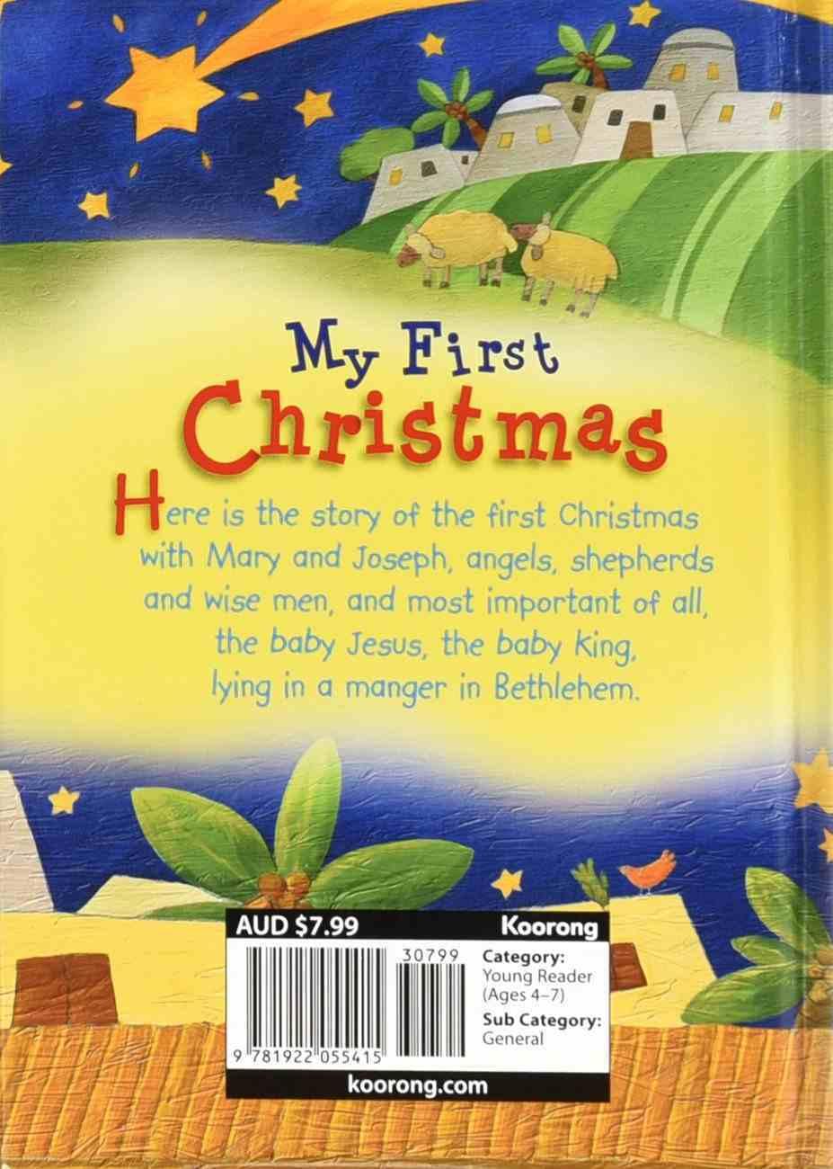 My First Christmas Hardback