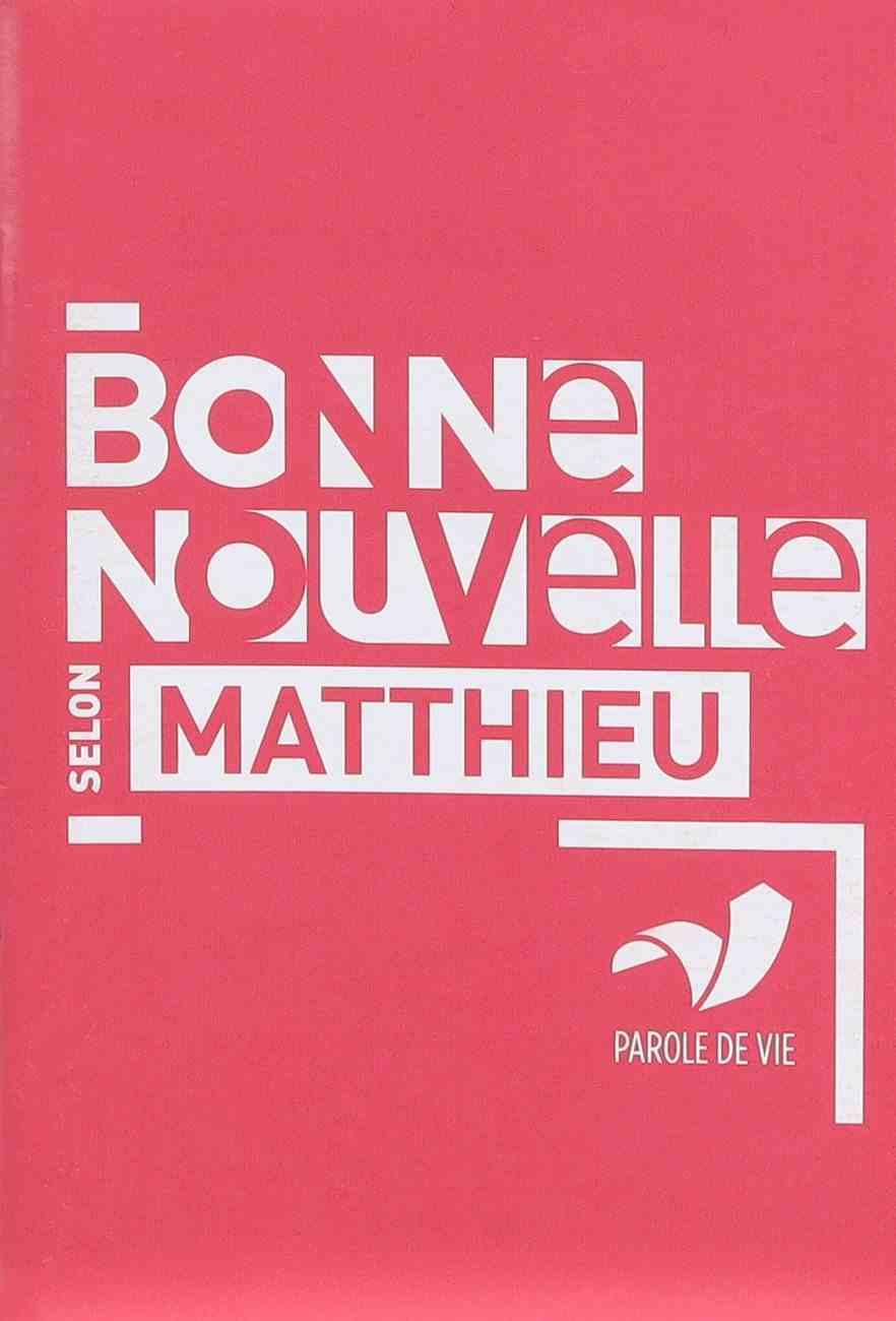 Gospel of Matthew (French) Paperback