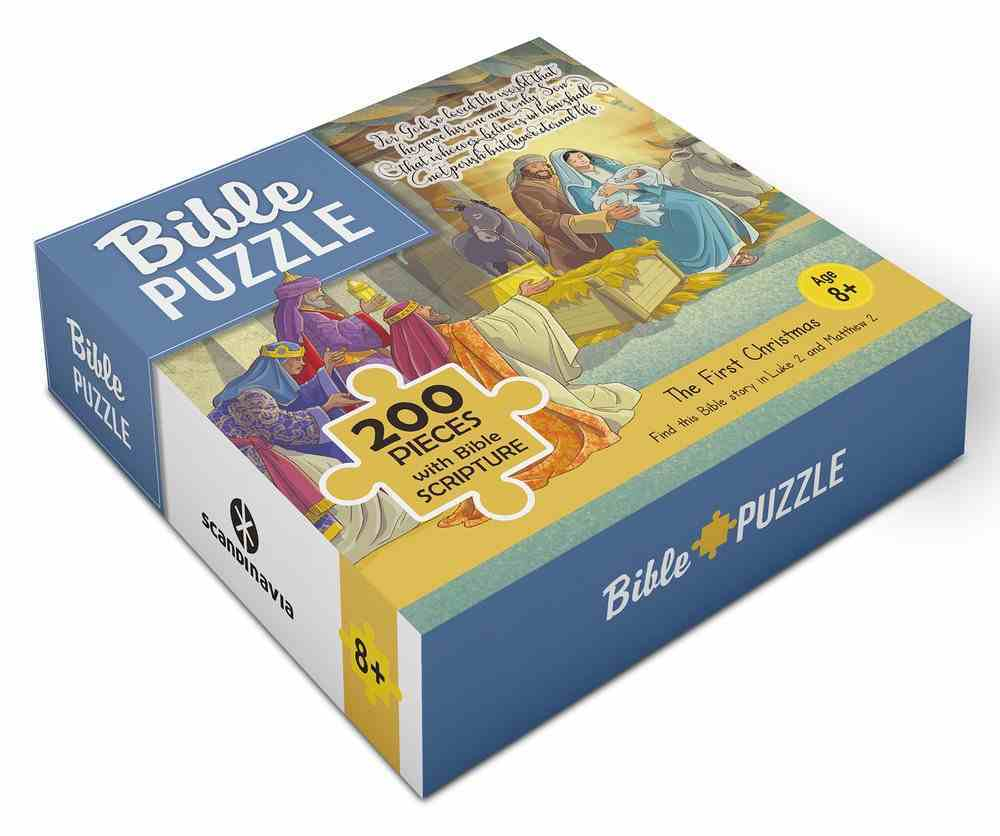 Bible Jigsaw Puzzle: The First Christmas (200 Pieces) Game