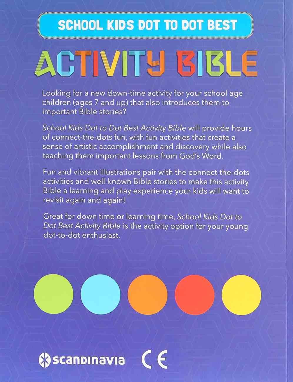 School Kids Dot to Dot Best Activity Bible (Ages 7-11) Paperback