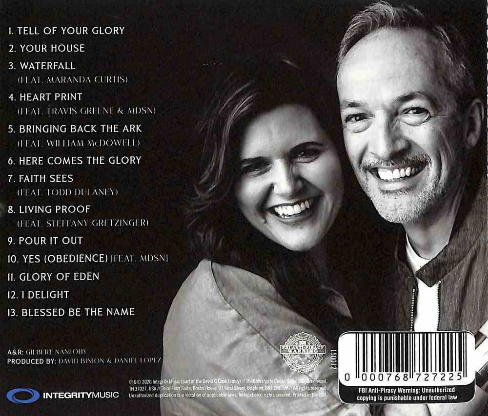 Glory of Eden CD