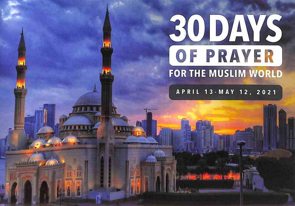 30 Days of Prayer For the Muslim World (2021) Booklet