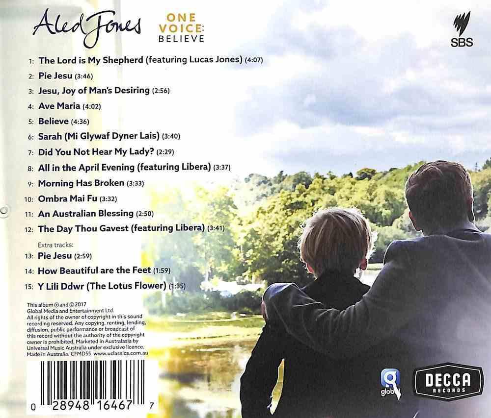 One Voice: Believe CD