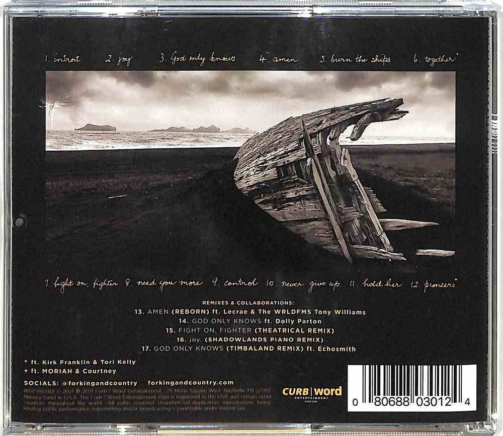 Burn the Ships Deluxe Edition: Remixes and Collaborations CD